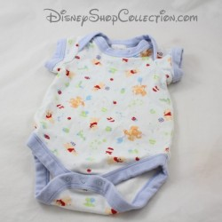 Body Winnie the Cub DISNEY STORE white blue boy 0 - 3 months