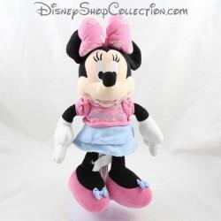 Minnie DISNEYLAND PARIS T-shirt pink blue skirt Disney 33 cm