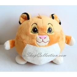 Peluche balle Simba DISNEY Le Roi Lion Nicotoy boule 33 cm