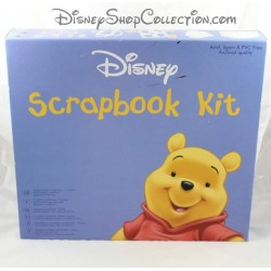 Disney Scrapbooking Kit Winnie the Pooh 75 pieces album and accessories
