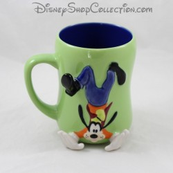 Taza Dingo DISNEY STORE Goofy en relieve
