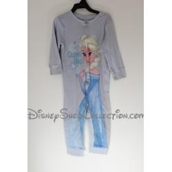 Pyjama 1 pièce Elsa DISNEY C&A La Reine des neiges bleu 4 ans