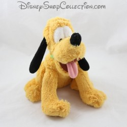 Peluche Pluto DISNEY STORE assis chien de Mickey 27 cm