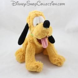 Peluche Pluto DISNEY STORE sitting Mickey dog 27 cm