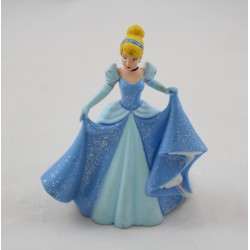 Figurine Princess Cendrillon BULLYLAND Bully pvc Disney 10 cm Blue prom dress