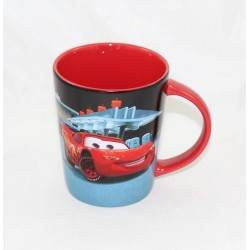 Cars DISNEY STORE Flash McQueen Relief Mug Ceramic Cup 12 cm