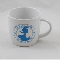 Donald DISNEY blue white Donald Duck ceramic mug 12 cm