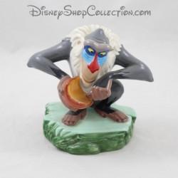Figurine céramique Rafiki singe DISNEY Le Roi Lion gris 13 cm