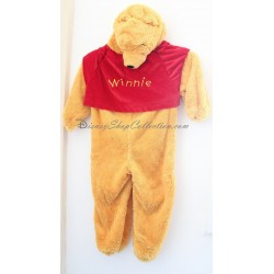 Disguise Winnie the Pooh DISNEYLAND PARIS Disney 5-6 years old child