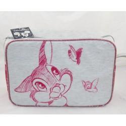 Bambi pink grey Panpan DISNEYLAND PARIS rabbit toilet kit