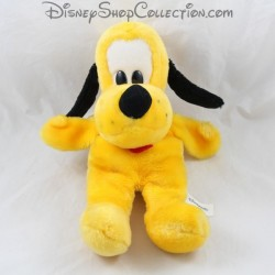 Peluche marionnette chien DISNEYLAND PARIS Pluto jaune Disney 34 cm