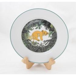 Plate The Lion King DISNEY Tables - Simba Porcelain Colors