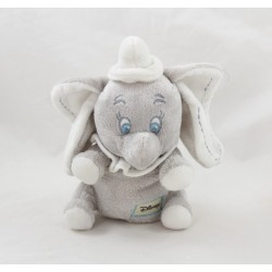 Elephant cub Dumbo DISNEY NICOTOY white grey sitting seams ears 18 cm