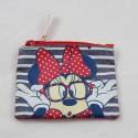 Minnie DISNEY Minnie Parisian blue white red stripes