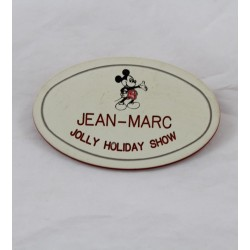 Badge Name Tag EURO DISNEY Jean-Marc Jolly Holiday Show Mary Poppins