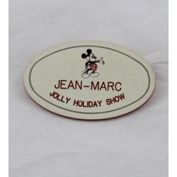 Nome badge Tag EURO DISNEY Jean-Marc Jolly Holiday Show Mary Poppins