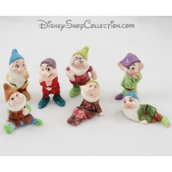 Set of ceramic figurines Dwarfs DISNEY Snow White and the 7 dwarfs