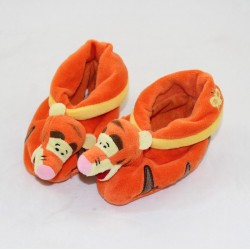 Baby slippers Tigrou DISNEYLAND PARIS Winnie the Pooh 3-6 month old black orange