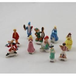 Set de fèves DISNEY 10 fèves Héros & Princesses Disney 2005