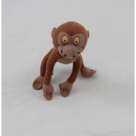 Peluche Manu mono DISNEY Tarzán pequeño mono babuino McDonald's 11 cm