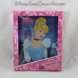 Personal diary 3D DISNEY Cinderella 128 pages - 24 stickers