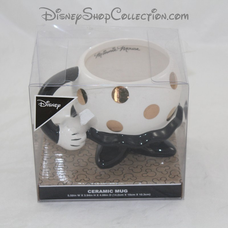 Mug Minnie Primark Disney Down The Body White Skirt Cup Relief 3d