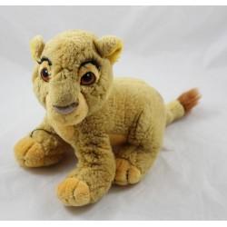 Peluche lion Simba DISNEY Le Roi lion vintage 20 cm