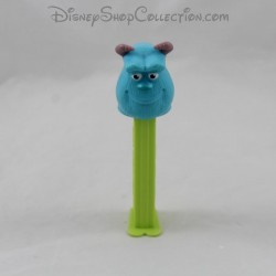 Dispensador dulce Sully PEZ Disney Monsters y azul verde cie 12 cm