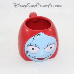 3D Mug Sally DISNEY STORE Lo strano Natale di Mr. Jack's Face Cup 10 cm