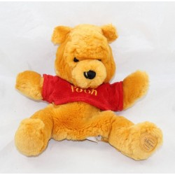 Peluche marionnette Winnie DISNEY STORE Ours ami Tigrou