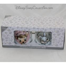 Lot of 2 mugs PRIMARK Disney Bambi and Panpan ceramic cup