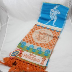 Winter scarf Hercule DISNEY acrylic made in France orange blue