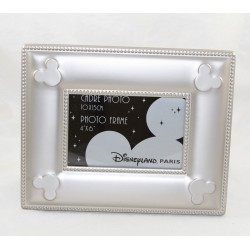 Mickey DISNEYLAND PARIS silver metal photo frame 25 cm