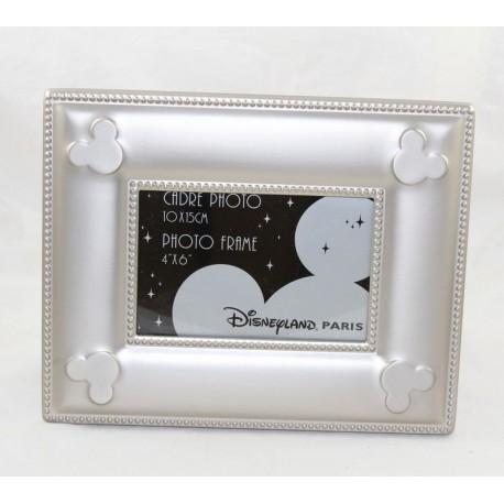 Mickey DISNEYLAND PARIS silver metal photo frame 25 cm