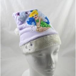Sombrero de Navidad hada Bell DISNEY púrpura blanco pompom estrella niño