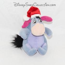 Disney STORE Bourriquet Noel gorra roja 15 cm toalla de burro