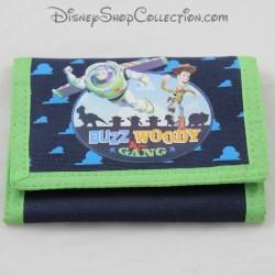 Portefeuille Woody et Buzz l'éclair DISNEY Toy Story bleu vert porte monnaie