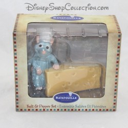Set salt pepper DISNEY Ratatouille Rémy and salt and pepper cheese