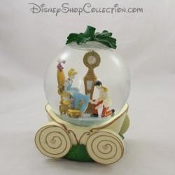 Snow globe musical Cendrillon DISNEY carrosse boule à neige 18 cm