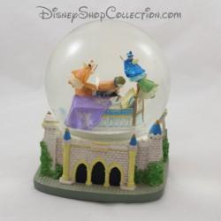 Snow globe musical DISNEY La belle au bois dormant chateau boule à neige 16 cm