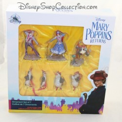 DISNEY Mary Poppins set of 7-figure Limited Edition