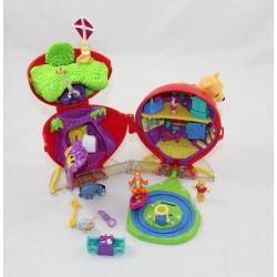 Polly Pocket Winnie l'ourson DISNEY ballon rouge 5 personnages