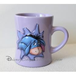 Mug en relief Bourriquet DISNEY STORE tasse mauve en céramique