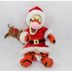 Tigger DISNEY STORE Santa Claus red reindeer coat 22 cm