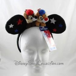 Banda de cabeza de ardilla DISNEYLAND PARIS 3D Tic y Tac Disney estrellas