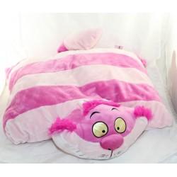Peluche coussin chat Cheshire DISNEYPARKS pillow pets Alice au Pays des merveilles 50 cm