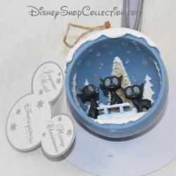Ornement décoratif Amich, Hubert et Harris DISNEYLAND PARIS Rebelle 3 oursons figurine en résine Disney 8 cm