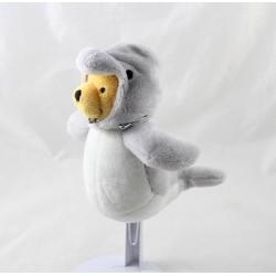 Winnie el POoh PELUCHE DISNEY NICOTOY disfrazado de delfín 16 cm