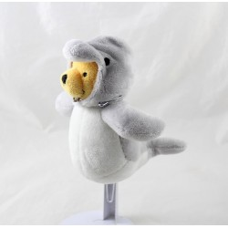Winnie the POoh PELUCHE DISNEY NICOTOY disguised as a dolphin 16 cm