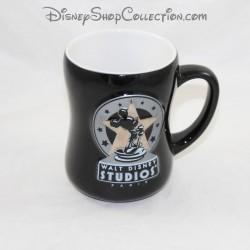 Mickey DISNEYLAND PARIS Walt Disney Studios black ceramic cup mug 12 cm